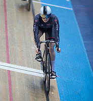 25th January 2020; National Cycling Centre, Manchester, Lancashire, England; HSBC British Cycling Track Championships; Lauren Bell wins the second semi final of the women's keirin