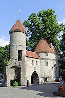 Viru-Tor in Tallinn (Reval), Estland, Europa, Unesco-Weltkulturerbe