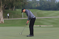 Julian Suri (USA) on the 13th green during Round 1 of the UBS Hong Kong Open, at Hong Kong golf club, Fanling, Hong Kong. 23/11/2017<br /> Picture: Golffile | Thos Caffrey<br /> <br /> <br /> All photo usage must carry mandatory copyright credit     (&copy; Golffile | Thos Caffrey)