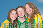 Attending the opening of  the GAA grounds in Lixnaw on Sunday were Jennifer Conway, Sharon McMahon, and Niamh Guerin...   Copyright Kerry's Eye 2008