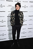LONDON, UK. October 16, 2019: Edward Bluemel arriving for the Esquire Townhouse 2019 launch party, London.<br /> Picture: Steve Vas/Featureflash