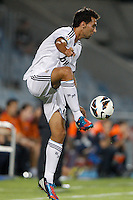 26.08.2012 SPAIN -  La Liga 12/13 Matchday 2th  match played between Getafe C.F. vs Real Madrid CF (0-0) at Alfonso Perez stadium. The picture show Alvaro Arbeloa Coca (Spanish defender of Real Madrid)