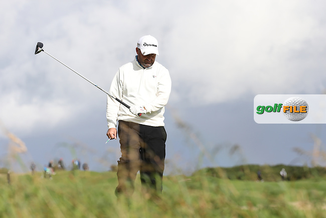 Damien McGrane (IRL) during the final round of  The 106th Irish PGA Championship, at the Moy Valley Hotel & Golf Resort, Kildare, Ireland.  25/09/2016. Picture: David Lloyd | Golffile.