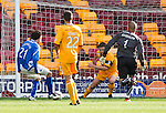 Francisco Sandaza scores his goal for St Johnstone
