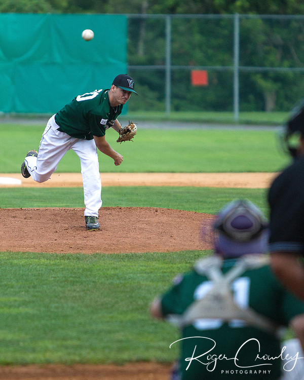 Vermont Mountaineers defeat the Laconia Muskrats 6-1 at Montpelier Recreation Field.