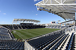 26 October 2014: A wide shot of PPL Park from the northeast corner. The Trinidad & Tobago Women's National Team played the Mexico Women's National Team at PPL Park in Chester, Pennsylvania in the 2014 CONCACAF Women's Championship Third Place game. Mexico won the game 4-2 after extra time. With the win, Mexico qualified for next year's Women's World Cup in Canada and Trinidad & Tobago face playoff for spot against Ecuador.