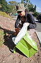 "Volunteers in the City of Millbrae participated in California Coastal Cleanup Day on 9/19/09. Participants cleaned up inland locations throughout the city as well as at Bayfront Park on the San Francisco Bay shoreline. The inland cleanup efforts were important because, according to the California Coastal Commission, ""past Coastal Cleanup Day data tell us that most (between 60-80 percent) of the debris on our beaches and shorelines comes from inland sources, traveling through storm drains or creeks out to the beaches and ocean. Rain or even something as simple as hosing down a sidewalk can wash cigarette butts, bits of styrofoam, pesticides, and oil into the storm drains and out to the ocean."" The California Coastal Cleanup Day (http://www.coastal.ca.gov/publiced/ccd/ccd.html) is sponsored by the California Coastal Commission and is a part of the International Coastal Cleanup organized by The Ocean Conservancy."