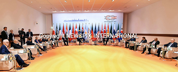 07.07.2017; Hamburg, Germany: WORLD LEADERS <br /> at the G20 Summit in Hamburg Germany.<br /> Mandatory Credit Photo: &copy;NEWSPIX INTERNATIONAL<br /> <br /> IMMEDIATE CONFIRMATION OF USAGE REQUIRED:<br /> Newspix International, 31 Chinnery Hill, Bishop's Stortford, ENGLAND CM23 3PS<br /> Tel:+441279 324672  ; Fax: +441279656877<br /> Mobile:  07775681153<br /> e-mail: info@newspixinternational.co.uk<br /> **All Fees Payable To Newspix International**