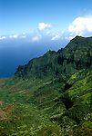 HI, Kauai, Hawaii, Waimea Canyon Overlook  Photo: hikaui-ph5..Photo Copyright: Lee Foster, www.fostertravel.com, 510-549-2202, lee@fostertravel.com