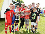 Harestown 3rd and 4th class team who were the winners at the Albion Rovers 5 aside tournament. Photo:Colin Bell/pressphotos.ie