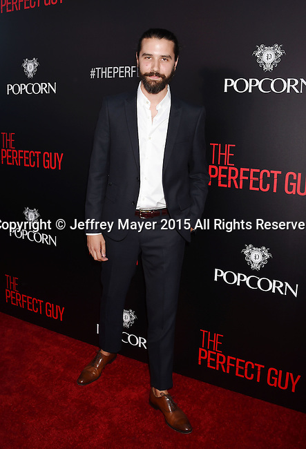 BEVERLY HILLS, CA - SEPTEMBER 02: Composer David Fleming arrives at the premiere of Screen Gems' 'The Perfect Guy' at The WGA Theater on September 2, 2015 in Beverly Hills, California.