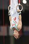 Wales' Clinton Purnell competes in the <br /> <br /> Gymnastics artistic - Team final & Individual Qualification <br /> <br /> Photographer Chris Vaughan/Sportingwales<br /> <br /> 20th Commonwealth Games - Day 5 - Monday 28th July 2014 - Gymnastics artistic - The SSE Hydro - Glasgow - UK