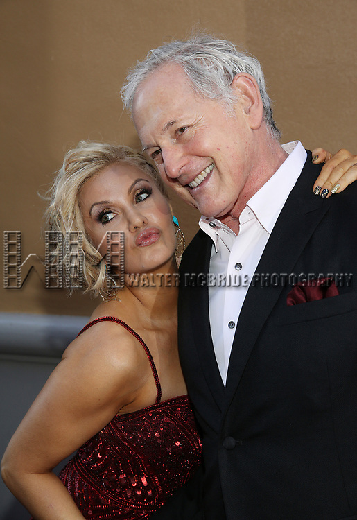 Orfeh and Victor Garber attend the Broadway Opening Night performance of 'Groundhog Day' at the August Wilson Theatre on April 17, 2017 in New York City