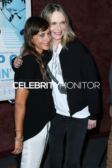 LOS ANGELES, CA, USA - SEPTEMBER 17: Rashida Jones, Peggy Lipton arrive at the Los Angeles Premiere Of RADiUS-TWC's 'Keep On Keepin' On' held at the Landmark Theatre on September 17, 2014 in Los Angeles, California, United States. (Photo by Xavier Collin/Celebrity Monitor)