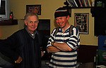 Larry Hingerton and Charlie Cusack in Geraghty&rsquo;s The Octagon Westport.<br />Pic Conor McKeown