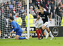 27/09/2008  Copyright Pic: James Stewart.File Name : sct_jspa21_falkirk_v_hamilton.SCOTT ARFIELD CELEBRATES AFTER HE SCORES FALKIRK'S FOURTH GOAL.James Stewart Photo Agency 19 Carronlea Drive, Falkirk. FK2 8DN      Vat Reg No. 607 6932 25.Studio      : +44 (0)1324 611191 .Mobile      : +44 (0)7721 416997.E-mail  :  jim@jspa.co.uk.If you require further information then contact Jim Stewart on any of the numbers above........