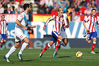 7 Antonie Griezmann Forward of Atletico de Madrid . 2014 November 30 Madrid Spain. BBVA 14/15, 13º Match, match played between Atletico de Madrid vs Deportivo de la CoruĐa at Vicente Calderon stadium.