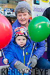 Enjoying the CH Chemist Annual Santa Parade on Saturday were Jane O Donovan, Dean Ferriter