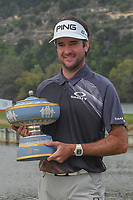 Bubba Watson (USA) with The Walter Hagen Cup for winning the World Golf Championships, Dell Match Play, Austin Country Club, Austin, Texas. 3/25/2018.<br /> Picture: Golffile | Ken Murray<br /> <br /> <br /> All photo usage must carry mandatory copyright credit (&copy; Golffile | Ken Murray)