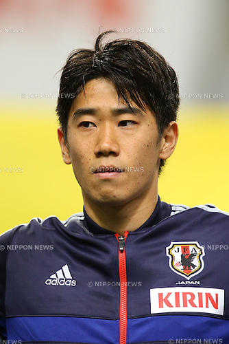 Shinji Kagawa (JPN), .FEBRUARY 6, 2013 - Football / Soccer : .KIRIN Challenge Cup 2013 Match between Japan 3-0 Latvia .at Home's Stadium Kobe in Hyogo, Japan. .(Photo by Akihiro Sugimoto/AFLO SPORT)