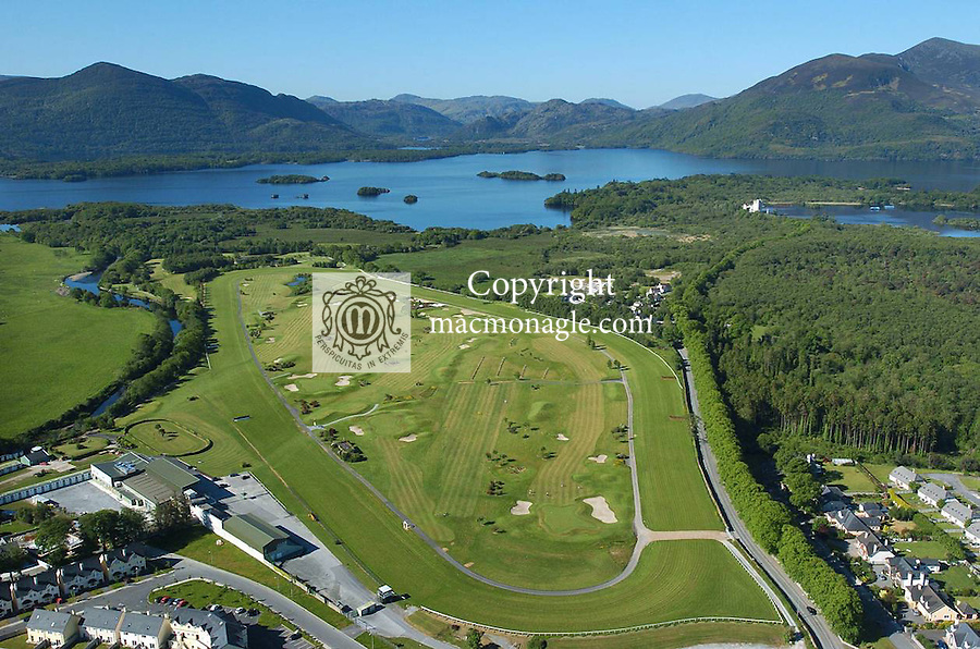 An aerial picture of Killarney Race track..© Don MacMonagle 2006