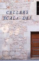 Winery building. Scala Dei, Priorato, Catalonia, Spain