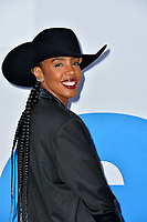 "LOS ANGELES, USA. April 08, 2019: Kelly Rowland at the premiere of ""Little"" at the Regency Village Theatre.<br /> Picture: Paul Smith/Featureflash"
