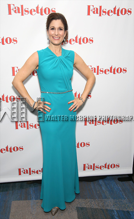 Stephanie J. Block attends the Opening Night After Party for 'Falsettos'  at the New York Hilton Hotel on October 27, 2016 in New York City.