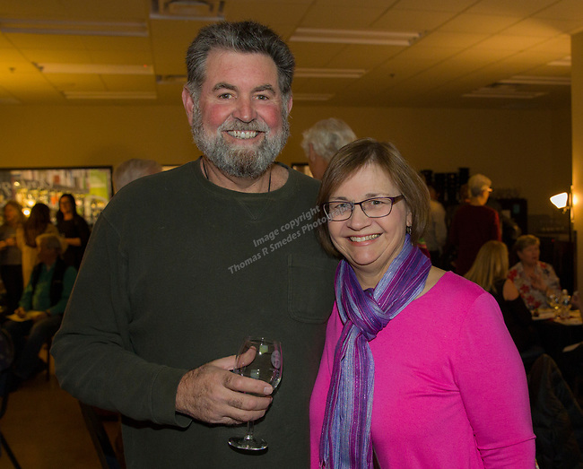 "Ron and Mimi Longero during the Reno Magazine ""Bubbles Tasting"" event at Total Wine in Reno on Friday night, February 9, 2018."