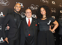 NEW YORK, NY - OCTOBER 19: (L-R) Swizz Beatz, Clive Davis, and Keep A Child Alive co-founder and singer Alicia Keys attend Keep A Child Alive's Black Ball 2016 at Hammerstein Ballroom on October 19, 2016 in New York City. Photo by John Palmer/MediaPunch
