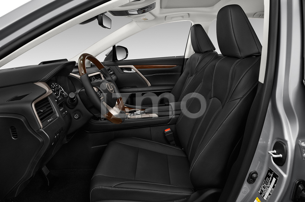 Front seat view of a 2017 Lexus RX 350 L 5 Door SUV front seat car photos