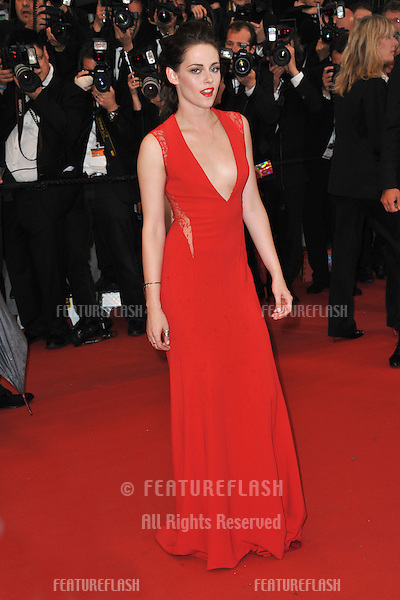 "Kristen Stewart at the gala screening of ""Cosmopolis"" in competition at the 65th Festival de Cannes..May 25, 2012  Cannes, France.Picture: Paul Smith / Featureflash"