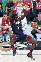 USA's Kenneth Faried during 2014 FIBA Basketball World Cup Quarter-Finals match.September 9,2014.(ALTERPHOTOS/Acero)