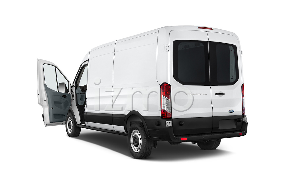Car images of a 2015 Ford Transit 250 Van Med Roof Sliding Pass. 130 WB 2 Door Van Doors