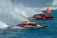 "Eric Langevin, GP-12 ""Long Shot"" and Tom Thompson, GP-525 ""Fat Chance"" (Grand Prix Hydroplane(s)"