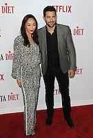 www.acepixs.com<br /> <br /> February 1 2017, LA<br /> <br /> Cara Santana and Jesse Metcalfe arriving at the premiere Of Netflix's 'Santa Clarita Diet' at the ArcLight Cinemas Cinerama Dome on February 1, 2017 in Hollywood, California<br /> <br /> By Line: Peter West/ACE Pictures<br /> <br /> <br /> ACE Pictures Inc<br /> Tel: 6467670430<br /> Email: info@acepixs.com<br /> www.acepixs.com