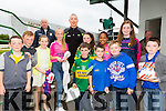 Star Kieran Donaghy with fans at the  Kerry GAA Night at Dogs Race of Champions at the Kingdom Greyhound Stadium on Friday