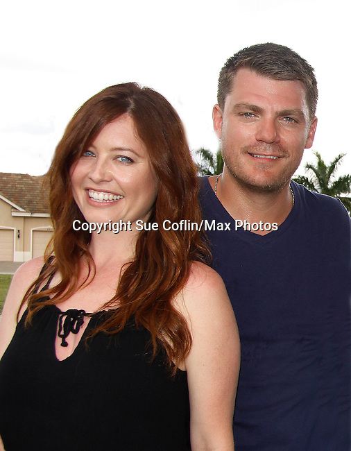 Melissa Archer & Jeff Branson donated their time to Southwest Florida 16th Annual SOAPFEST Cruisin' and Schmoozin' aboard the Marco Island Princess in Marco Island, Florida on May 24, 2015 - a celebrity weekend May 22 thru May 25, 2015 benefitting the Arts for Kids and children with special needs and ITC - Island Theatre Co.  (Photos by Sue Coflin/Max Photos)
