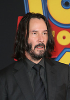 "11 June 2019 - Hollywood, California - Keanu Reeves. Premiere Of Disney And Pixar's ""Toy Story 4""  held at El Capitan theatre. Photo Credit: Faye Sadou/AdMedia"