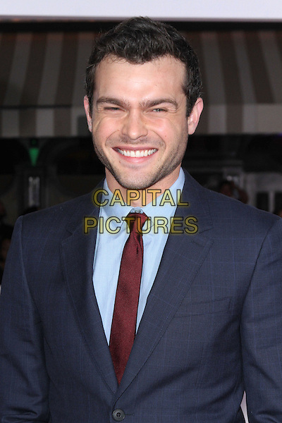 WESTWOOD, CA - FEBRUARY 1: Alden Ehrenreich at the premiere of Universal Pictures' &quot;Hail, Caesar!&quot; at The Mosaic Hotel on February 01, 2016. <br /> CAP/MPI22<br /> &copy;MPI22/Capital Pictures