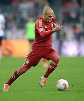 FUSSBALL   1. BUNDESLIGA  SAISON 2012/2013   11. Spieltag FC Bayern Muenchen - Eintracht Frankfurt    10.11.2012 Arjen Robben (FC Bayern Muenchen)