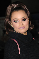 www.acepixs.com<br /> January 8, 2018 New York City<br /> <br /> Andra Day arriving to tape an appearance on 'The Late Show with Stephen Colbert' on January 8, 2018 in New York City.<br /> <br /> Credit: Kristin Callahan/ACE Pictures<br /> <br /> Tel: (646) 769 0430<br /> e-mail: info@acepixs.com