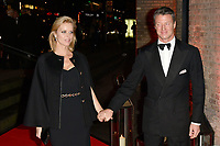 Czech model Eva Herzigova and Italian businessman Gregorio Marsiaj attend DKMS Big Love Gala at the Round House in London.<br /> <br /> NOVEMBER 7th 2018. Credit: Matrix/MediaPunch ***FOR USA ONLY***<br /> <br /> REF: SLI 184095