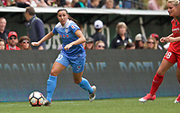 Portland, OR - Saturday April 29, 2017: Vanessa DiBernardo during a regular season National Women's Soccer League (NWSL) match between the Portland Thorns FC and the Chicago Red Stars at Providence Park.