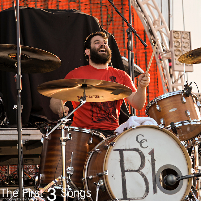 Tim Very of the Manchester Orchestra performs during the Beale Street Music Festival in Memphis, TN on April 29, 2011.