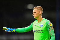 Portsmouth keeper Alex Bass during Portsmouth vs Gillingham, Sky Bet EFL League 1 Football at Fratton Park on 12th October 2019