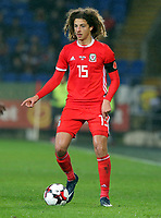 Ethan Ampadu of Wales during the international friendly soccer match between Wales and Panama at Cardiff City Stadium, Cardiff, Wales, UK. Tuesday 14 November 2017.