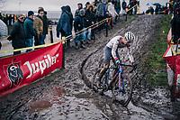 Tom Pidcock (GBR/TPR)<br /> <br /> Superprestige cyclocross Hoogstraten 2019 (BEL)<br /> Elite Men's Race<br /> <br /> &copy;kramon