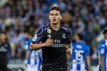 James Rodriguez of Real Madrid during the match of  La Liga between Club Deportivo Leganes and Real Madrid at Butarque Stadium  in Leganes, Spain. April 05, 2017. (ALTERPHOTOS / Rodrigo Jimenez)