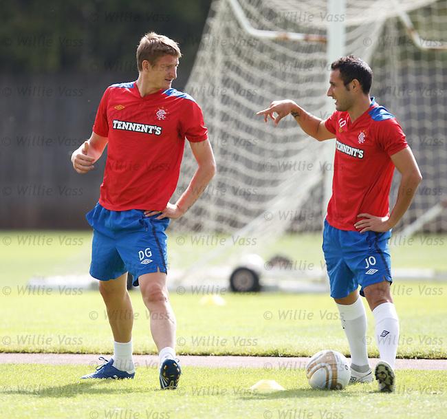 Dorin Goian and Juan Manuel Ortiz